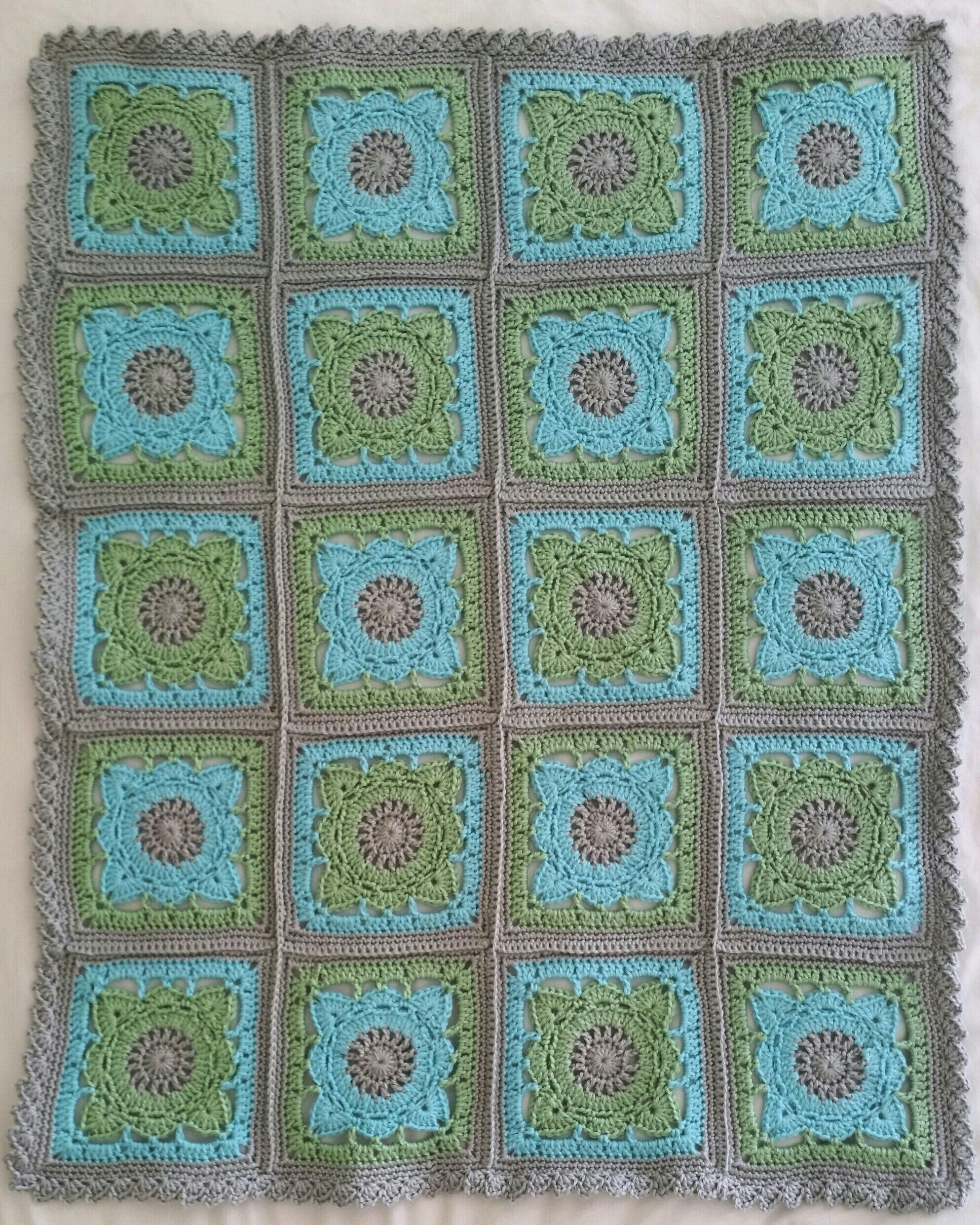 Willow Baby Boy Blanket Hooks And Hills